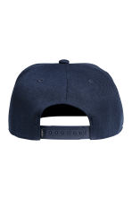 Cap with embroidery - Dark blue - Men | H&M CN 2