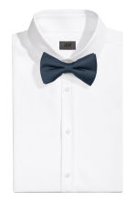 Silk bow tie - Dark blue -  | H&M CN 1