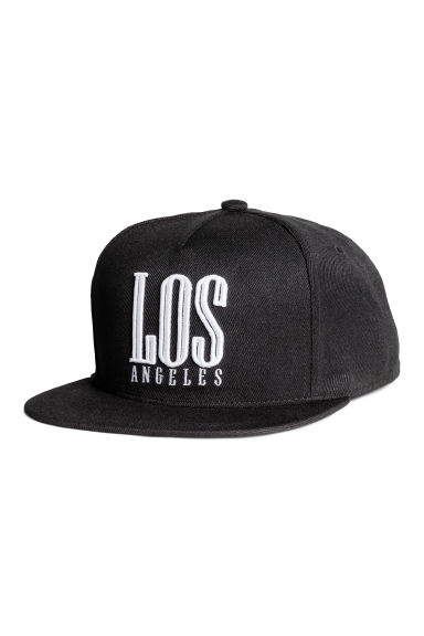 Cap - Black/Los Angeles - Men | H&M CN 1