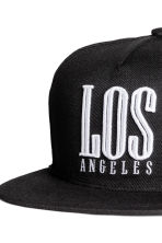 Cap - Black/Los Angeles - Men | H&M CN 3