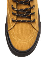 Hi-top trainers - Mustard yellow - Men | H&M CN 3