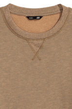 Sweatshirt - Dark beige marl - Men | H&M CN 3