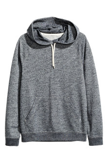 Hooded jersey top