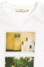 Printed T-shirt - White - Men | H&M CN 3
