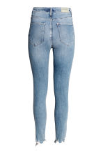 Skinny High Ankle Jeans - Light denim blue - Ladies | H&M CN 3