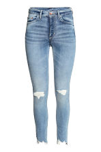 Skinny High Ankle Jeans - Light denim blue - Ladies | H&M CN 2