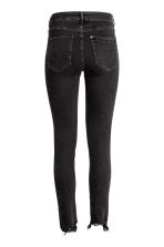 Skinny High Ankle Jeans - Черный деним -  | H&M RU 3
