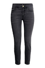 Slim Regular Ankle Jeans - Nearly black - MUJER | H&M ES 2