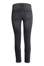 Slim Regular Ankle Jeans - Nearly black - MUJER | H&M ES 3