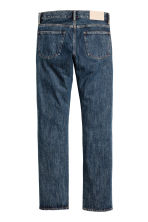 Straight Regular Jeans - Dark denim blue - Men | H&M CN 3