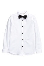 Shirt with tie/bow tie - White - Kids | H&M CN 2