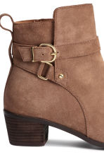 Suede boots - Light brown - Ladies | H&M CN 5