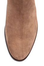 Suede boots - Light brown - Ladies | H&M CN 4