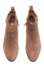 Suede boots - Light brown - Ladies | H&M CN 3