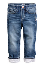 Slim Lined Jeans - Denim blue - Kids | H&M CN 2