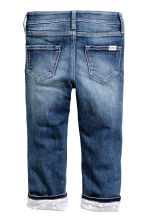 Slim Lined Jeans - Denim blue - Kids | H&M CN 3