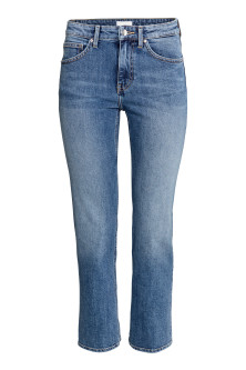 Straight Regular Ankle Jeans