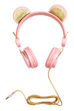 Headphones - Light pink - Kids | H&M CN 1