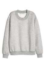Sweatshirt - Grey marl - Ladies | H&M GB 2