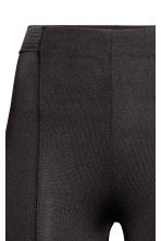 Jersey leggings - Black/Flatlock seam - Ladies | H&M CN 2