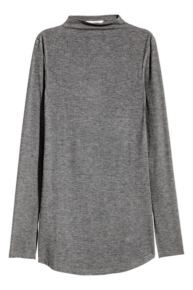 Top a costine - Grigio scuro mélange - DONNA | H&M IT