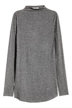Top a costine - Grigio scuro mélange - DONNA | H&M IT 1