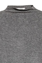 Top a costine - Grigio scuro mélange - DONNA | H&M IT 2