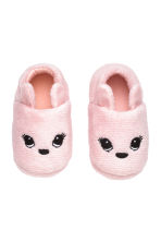 Chaussons souples - Rose clair - Home All | H&M FR 2