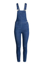 Denim dungarees - Dark denim blue - Ladies | H&M CN 2