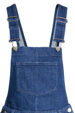 Denim dungarees - Dark denim blue - Ladies | H&M CN 4