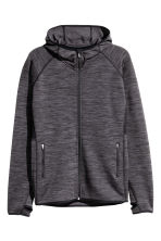 H&M+ Fleece outdoor jacket - Dark grey marl - Ladies | H&M CN 2