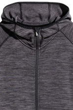 H&M+ Fleece outdoor jacket - Dark grey marl - Ladies | H&M CN 3