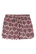 Short shorts - Natural white/Red - Ladies | H&M CN 2