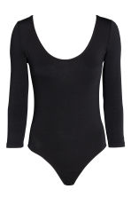 Lyocell body - Black - Ladies | H&M CN 1