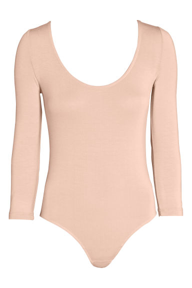 Body in lyocell - Beige cipria - DONNA | H&M IT 1