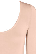 Body in lyocell - Beige cipria - DONNA | H&M IT 2