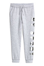 Joggers - Light grey marl - Kids | H&M CN 2