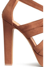 Platform sandals - Brown - Ladies | H&M CN 4