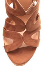 Platform sandals - Brown - Ladies | H&M CN 3
