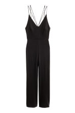 Strappy jumpsuit - Black - Ladies | H&M CN 2