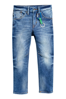 Tapered Jeans with keyring