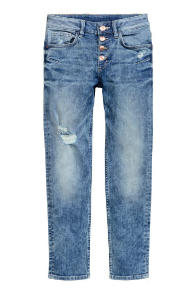 Relaxed Generous Fit Jeans - Denim blue - Kids | H&M CN 1