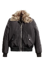 Bomber con colletto - Nero -  | H&M IT 2