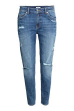 Girlfriend Jeans - Blu denim/consumato - DONNA | H&M IT 2