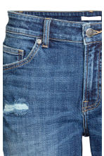 Girlfriend Jeans - Blu denim/consumato - DONNA | H&M IT 4