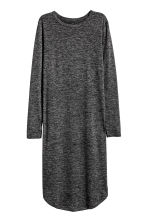Marled jersey dress - Dark grey - Ladies | H&M CN 2