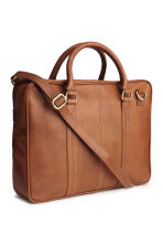 Borsa in pelle con tracolla - Cognac -  | H&M IT 2