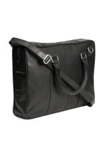 Leather shoulder bag - Black -  | H&M CN 2