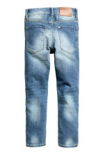 Skinny Fit Jeans rinforzati - Blu denim - BAMBINO | H&M IT 3