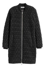 Quilted jacket - Black - Ladies | H&M CN 2